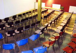 La salle polyvalente d'Idée 53 est prête