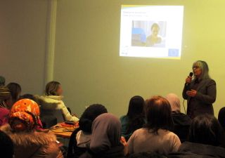 Néjia Abdellaoui, coordinatrice pédagogique d'Idée 53