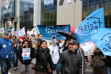 photo FeBISP - manifestation 07/10/2015