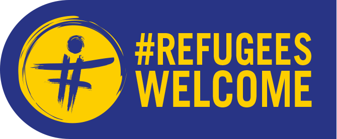 refugiees welcome - logo